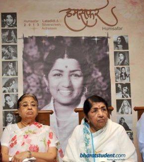 Lata Mangeshkar's Calendar 'Humsafar' 2013 Launch