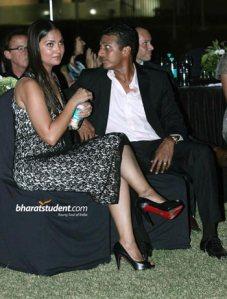Lara Dutta & Mahesh Bhupathi at Evoke 2012