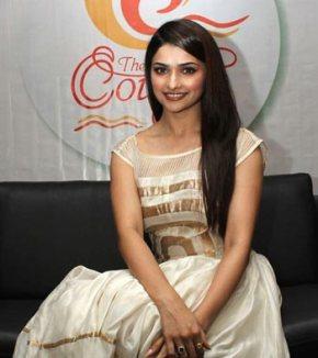 Prachi Desai at Country Club's New Year Bash Press Meet