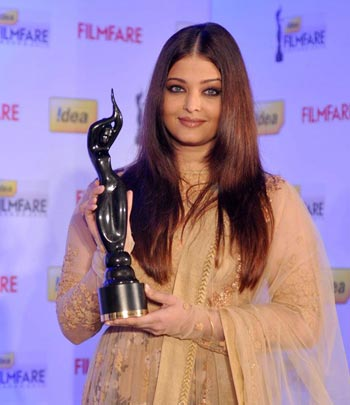Aishwarya Rai Bachchan at '58th Idea Filmfare Awards' Media Meet